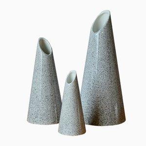 Vases, 1980s, Set of 3