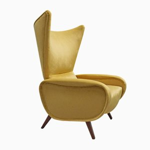 Mid-Century Italian Lounge Chair by Marco Zanuso, 1960s
