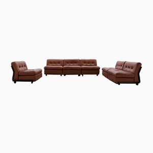 Sectional Amanta Sofa Set by Mario Bellini for B&B Italia / C&B Italia, 1966