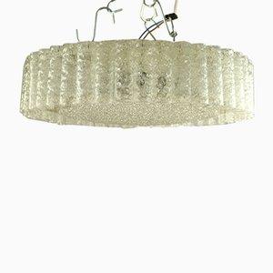 Large Vintage Glass Tube Ceiling Lamp from Doria Leuchten, 1960s