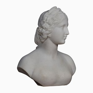 Antique French Bust of Madonna