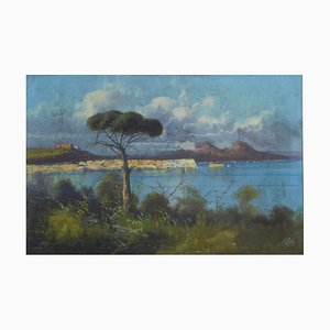 Antique Oil on Canvas by Vito
