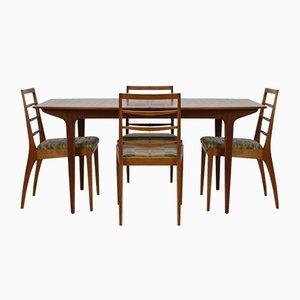 Mid-Century Esstisch & Stühle Set von AHMcintosh, 1960er, 5er Set