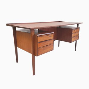 Danish Teak Desk by Peter Løvig Nielsen for Dansk Design, 1960s