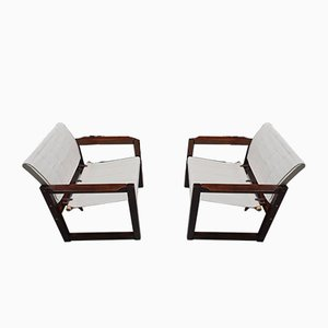 Diana Safari Canvas Chairs by Karin Mobring for Ikea, 1972, Set of 2