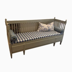 Antique Swedish Pull Out Bench, 1800s