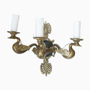 19th Century Empire Style French Sconces, Set of 2
