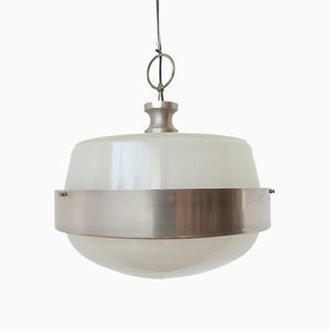 Mid-Century Italian Pendant Lamp Attributed to Artemide, 1970s