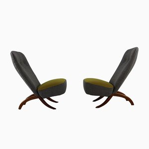 Congo Chairs by Theo Ruth for Artifort, 1952, Set of 2