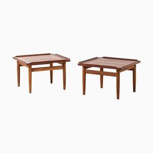 Side Tables by Kurt Østervig for Jason Møbler, Denmark, 1950s, Set of 2