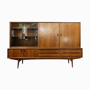 Rosewood Highboard by Oswald Vermaercke, 1970s