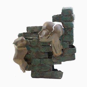 Skulptur aus Bronze von Eleonora Drummond, 1987