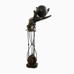 Escultura de metal How Long Got Sculpture de John Mills, 1995
