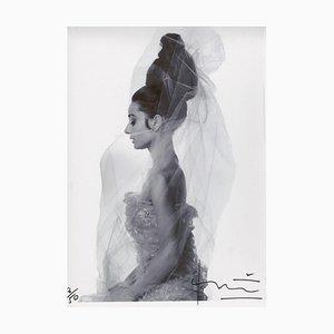 Audrey Hepburn Profile by Bert Stern, 2010