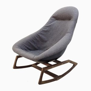 Organic Gemini Rocking Chair by Walter S. Chenery for Lurashell, 1960s