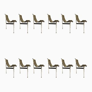 T-Chairs by Douglas Kelly, Ross Littell & William Katavolos, 1960s, Set of 12