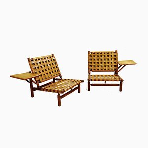 Lounge Chairs by Ilmari Tapiovaara for Paolo Arnaboldi, Italy, 1957, Set of 2