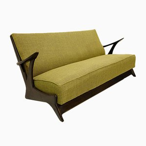 Belgian Sofa in the Style of Alfred Hendrickx, 1950s