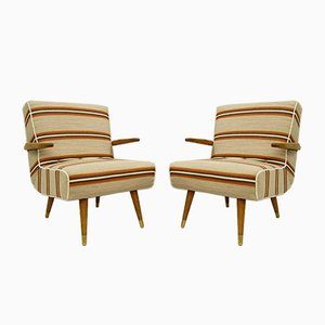 Hungarian Armchairs, 1950s, Set of 2