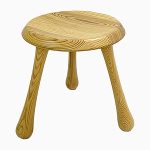 Pin Lacquered Milking Stool for the VIP Habitat Series by Ingvar Kamprad, 2000s