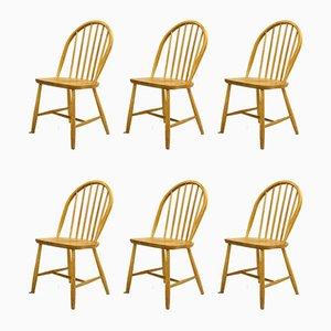Chairs by Erik Ole Jørgensen for Tarm Stole Møbelfabrik, 1960s, Set of 6