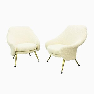 Martingale Armchairs by Marco Zanuso for Artflex, 1960s, Set of 2