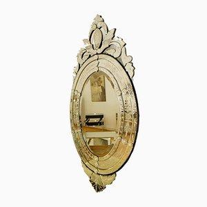 Espejo veneciano ovalado, años 70