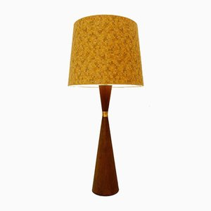 Danish Teak Diabolo Lamp from Fog & Morup, 1950s