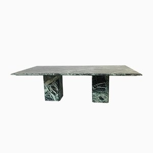 Verde Tinos Grec Marble Dining Table, 1990s
