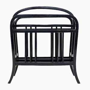 Bentwood Music or Newspaper Rack from Thonet, 1950s