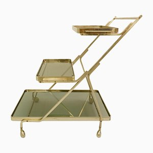 Art Deco Trolley with Removable Tray, 1950s