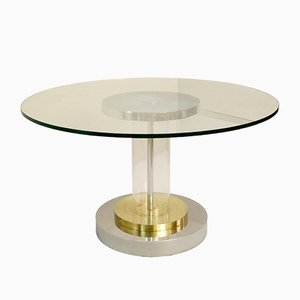 Dining Table by Romeo Rega, Italy, 1970s