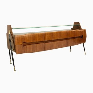 Italian Sideboard or Long Chest of Drawers, 1950s