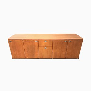Teak Sideboard by Gordon Bunschaft for De Coene for the Lambert Bank, 1970s