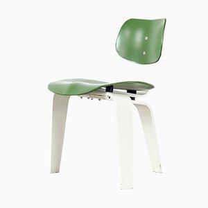 German Plywood Model SE42 Desk Chair by Egon Eiermann for Wilde+Spieth, 1950s