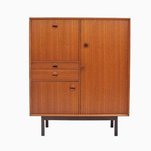 Vintage Teak and Rosewood Cabinet from Barovero, 1950s