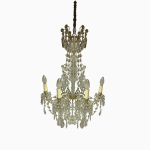 Antique 6-Arm Chandelier