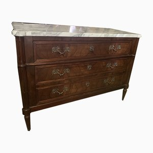 18th Century Louis XVI Walnut Chest of Drawers