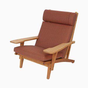 Danish Model GE 375 Lounge Chairs by Hans J. Wegner for Getama, 1970s, Set of 2