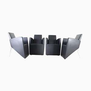Prototype J Lounge Chairs by Philippe Starck for Driade, 1980s, Set of 4