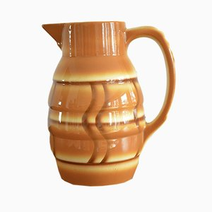 Art Deco Spray Decor Cocoa Pot, 1920s