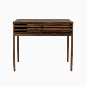 Rosewood Nesting Tables by Illum Wikkelsø for CFC Silkeborg, 1960s