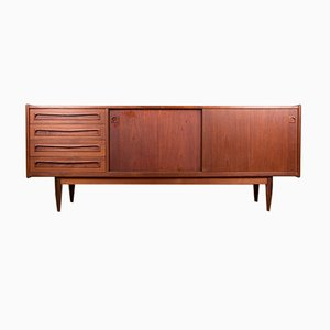 Danish Teak Sideboard by Johannes Andersen for Samcon, 1960s