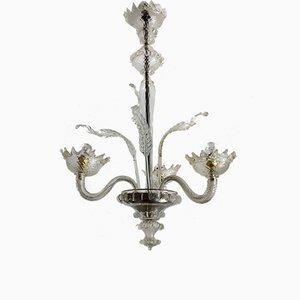 Vintage Murano Glass Chandelier, 1950s