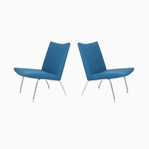 Mid-Century Sessel von Hans J. Wegner für AP Stolen, 1960er, 2er Set