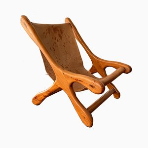 Mexican Sling Chair in the Style of Don S. Shoemaker, 1960s