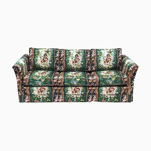 Tropisches tropisches Hollywood Regency Schlafsofa im Elefanten Stil