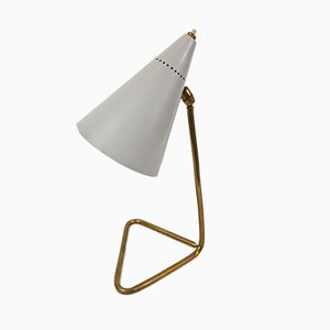 Mid-Century Modell Cocotte Tischlampe von Gilardi & Barzaghi, 1950er
