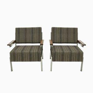 Niederländische Mid-Century Armlehnstühle aus Palisander, 1960er, 2er Set