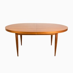 Large Scandinavian Teak Dining Table, 1960s